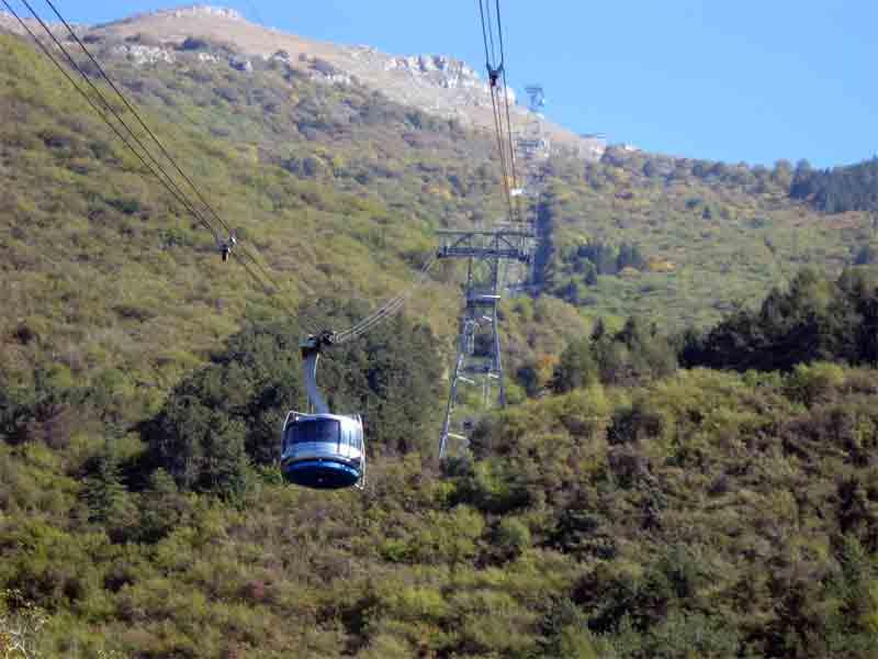 Cablecar Monte Baldo Malcesine Garda Lake Italy