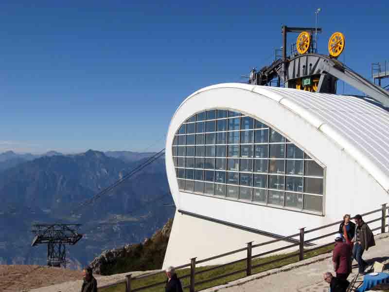 Funivia Monte Baldo Malcesine Lago Di Garda Italia